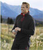 Set van 2 outdoor fleecesweaters