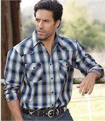 Popelínová košeľa Country Western preview3