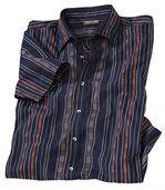 Pruhovaná košeľa snavažskými motívmi preview2