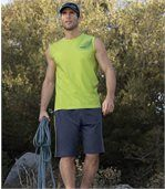 Men's Navy Blue Spring Time Jersey Shorts preview2