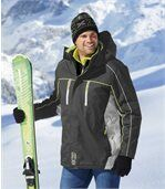 Men's Grey High-Performance Ski Parka preview3
