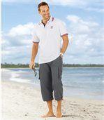 Tříčtvrteční kalhoty z mikrovlákna Summer Sport preview2