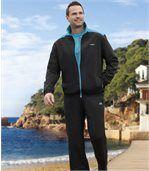 Sportlicher Jogginganzug aus Microfaser preview1