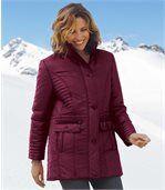 Elegantní bunda s prošívanou podšívkou preview1