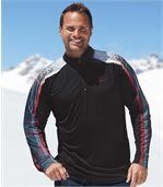 Bluza polo  z poliestru Winter Sport