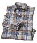 Kockovaná flanelová košeľa preview2