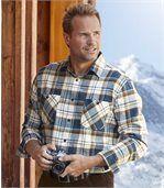 Károvaná flanelová košeľa Rocky Mountain