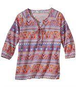 Mušelínová tunika v bohémském stylu preview2
