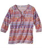 Woalowa bluzka w stylu Boho preview2