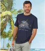 Set van2 sportieve Sea Fishing T-shirts preview2