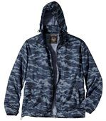 Windbreaker mit Camouflage-Aufdruck preview4