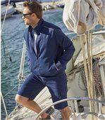 Men's Navy Twill Jacket