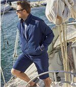 Twill-Jacke Navy preview3