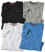 Lot de 4 Tee-Shirts Rocheuses preview1