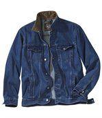 Džínová bunda s manšestrovým límcem preview2