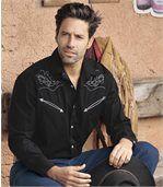 Czarna koszula Wild West preview1