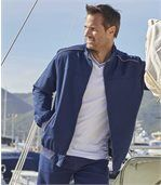 Twill-Jacke Navy preview4