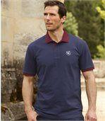 Sada 2 dvoubarevných polo triček z bavlněného piké preview2