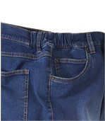 Men's Faded Blue Stretch Jeans