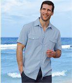Hemd aus Leinen und Baumwolle preview1