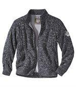 Pletený svetr sfleecovou podšívkou preview2