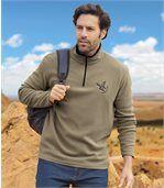 Zestaw 2 swetrów z mikropolaru Eagle State preview3
