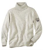 Men's Grey Winter Knitted Jumper preview1