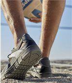 Men's Grey Casual Outdoor Sandals