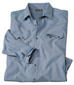 Chemise Chambray Destination Western preview2