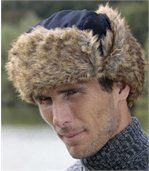 Men's Navy Blue Winter Weather Ushanka preview2