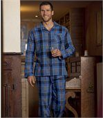 Karierter Flanell-Pyjama preview1