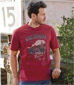 Men's Red Men's T-Shirt - Colorado Legends preview1