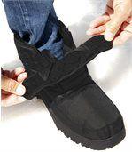 Zimní boty zateplené hřejivou kožešinou preview3