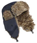 Men's Navy Blue Winter Weather Ushanka