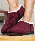 Perzikzachte dames pantoffels preview2