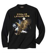 Longsleeve 'Eagles Landscape' preview2