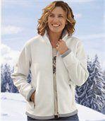 Fleecová bunda s podšívkou z umělé kožešiny preview2