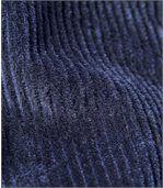 Elastické menčestrové nohavice preview2