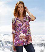 Women's Blouse - Floral Pattern  preview1