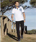 Men's Black Stretch Jeans - Denim preview2