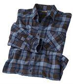 Men's Checked Flannel Shirt - Cotton - Original Explorer  preview2