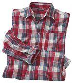 Kostkovaná flanelová košile preview2