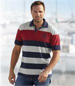 Prúžkované športové tričko TransMed preview1