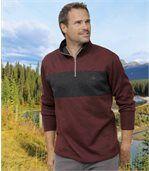 2er-Pack zweifarbige Shirts aus Molton preview2