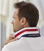 Men's White Yachting Club Piqué Polo Shirt preview3