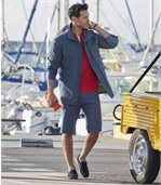 Sommerjacke aus Twill preview2