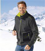 Men's Dark Grey Mountain Fleece Jacket preview1