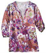 Women's Blouse - Floral Pattern  preview2