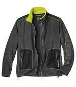 Men's Dark Grey Mountain Fleece Jacket preview2