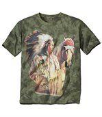 Tričko Tie & Dye Indian Chief